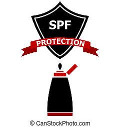 Sunscreen Protection Shield