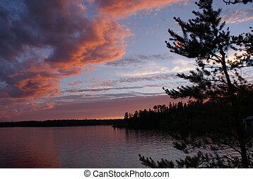 sunset 2 at Sesekinika