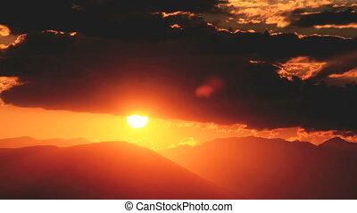 sunset 4k