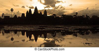 Angkor Wat. Siem Reap. Cambodia