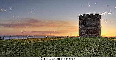 Sunset at Barrack Tower La Perouse Australia