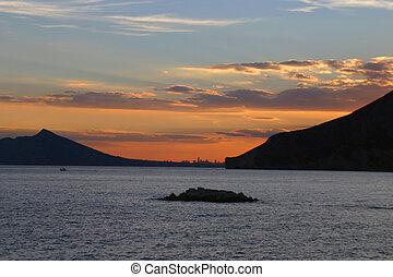 Sunset at Calpe