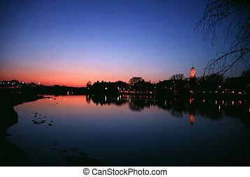 Sunset at Charles