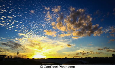 Sunset at Lake Paranoa - An amazing time-lapse video of the...