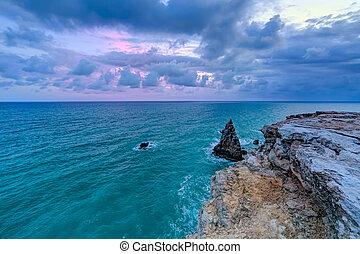 Sunset at Los Morrillos Lighthouse, Cabo Rojo, Puerto  Rico