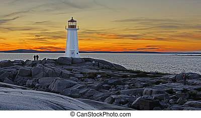 Sunset at Peggy's Cove 4715 21