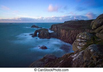 Sunset at Sennen, Cornwall