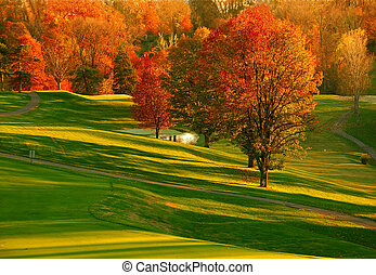 Sunset at the Golf Course 2 - Sunset at the Golf Course - ...