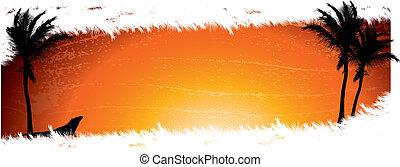 Sunset Background - A sunset or sunrise themed background...