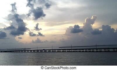 Sunset Bridge Florida Keys