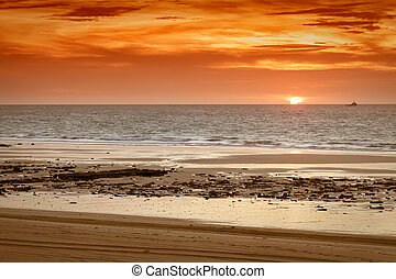 sunset Broome