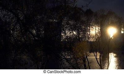 Sunset. City Kiev country Ukraine