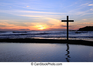 Sunset cross