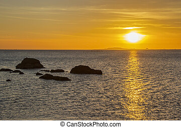Sunset from Corrubedo Cape
