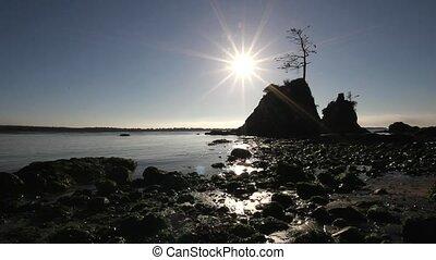 Sunset Garibaldi Beach Oregon 1080p