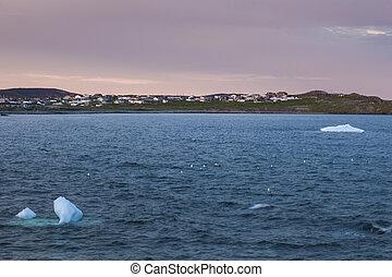 Sunset in Bonavista, Newfoundland