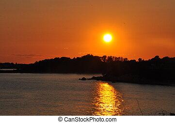 Sunset in Cape Cod, Massachusetts