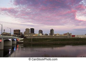Sunset in Dayton