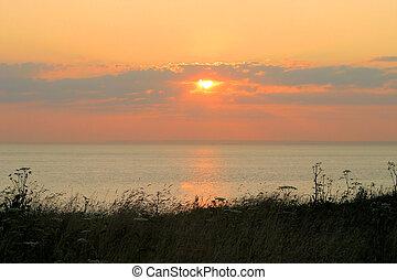 Sunset at Cap Gris Nez