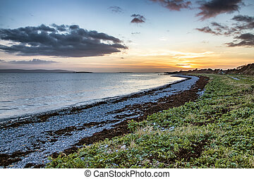 Sunset in Galway Bay