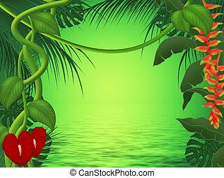 Background or frame illustration