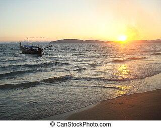 Sunset in Krabi