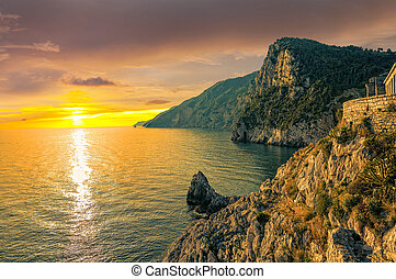 Sunset in Porto Venere