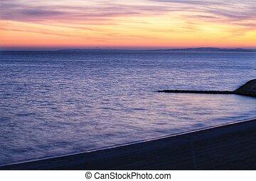 Sunset in Santa Pola