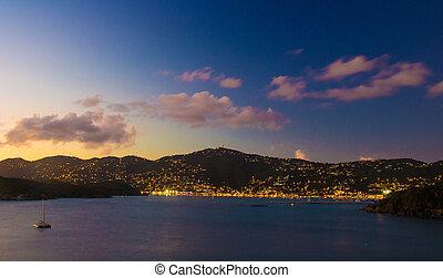 Sunset in St. Thomas