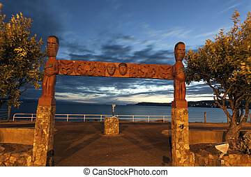 Sunset in Taupo