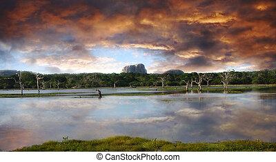 Sunset in Yala