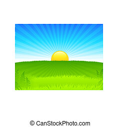 Sunset internet background
