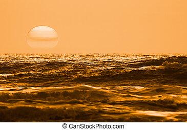 Sunset landscape