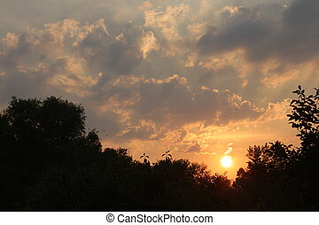 Sunset Light in Illinois