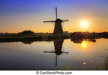Sunset mill