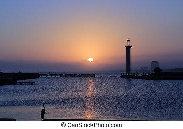 Sunset of the Gulf Coast