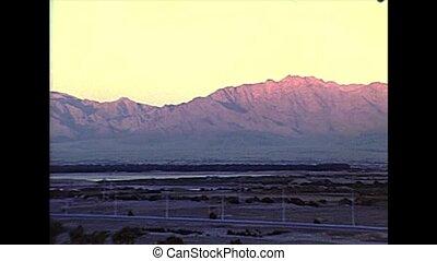 sunset of the Mount Sinai 1970s - sunset of the Mount Sinai...