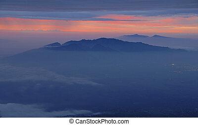 Sunset on Haleakala, Maui Hawaii