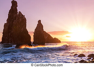 Sunset on Madeira