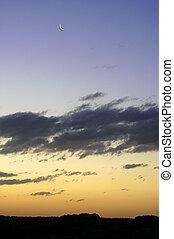 sunset on the Australian coast