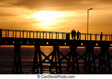 Sunset on the Jetty