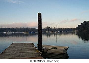 Puget Sound - Sunset on the Puget Sound