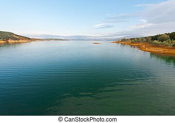 Lake in Spain