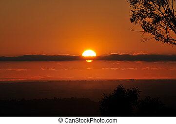 Sunset over La Mesa