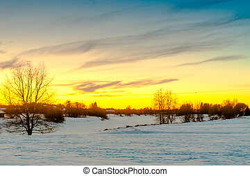 Sunset Over The Snowy River 3
