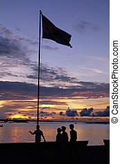 Sunset- Phnom Penh, Cambodia