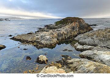 Sunset Point - Pebble Beach, California