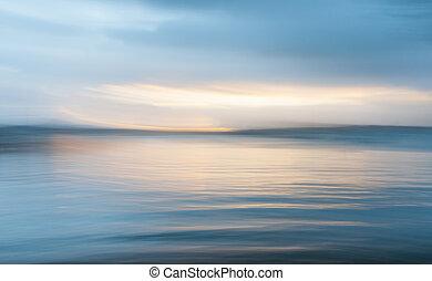 Sunset Russell New Zealand. - Mystical motion blur ...