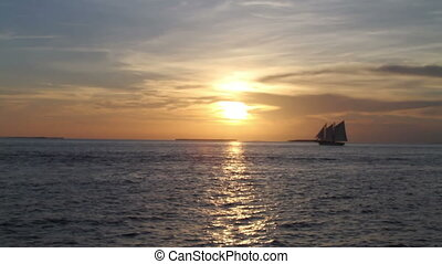 Sunset Sailing Key West Florida