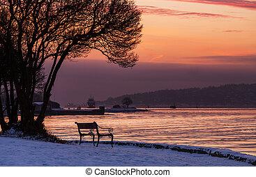 Sunset scene